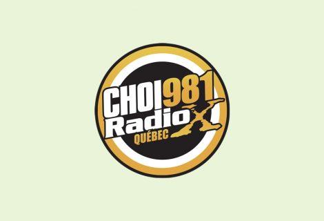 Pascale à la radio sur Radio X 98.1 Fm Québec, mardi 15 novembre 2016, à 21hrs